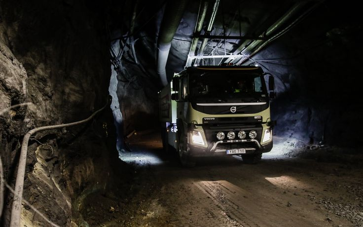 Volvo Autonomous Trucks Tested In The Boliden Mine In Sweden Following the launch of the FMX autonomous truck, AB Volvo went to northern Sweden to test it in the 1000-meters underground of the Boliden mine in Kristineberg. This is the very first test of this type of autonomous driving in such circumstances. Thus, a premiere for Volvo autonomous...