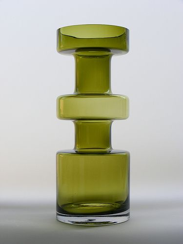 Riihimaki glass vase by art-of-glass, via Flickr