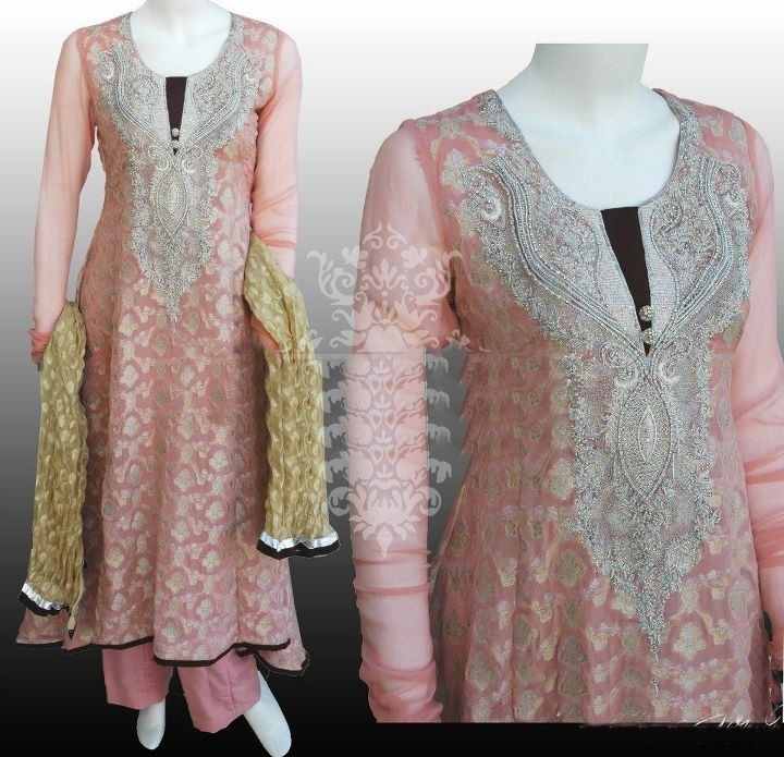 Latest Pakistani Dress Designs For Ladies
