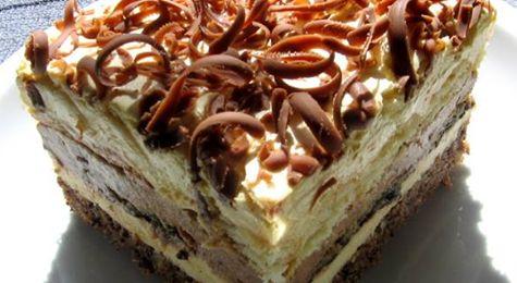 NAJJEDNOSTAVNIJA BINGO TORTA BEZ PEČENJA SAMO SLAŽI I MAŽI .. | Zdrava Kuhinja