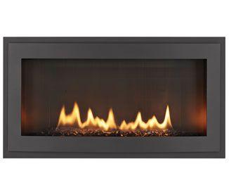 Linear Gas Fireplace Heatilator Rave Gas Fireplace