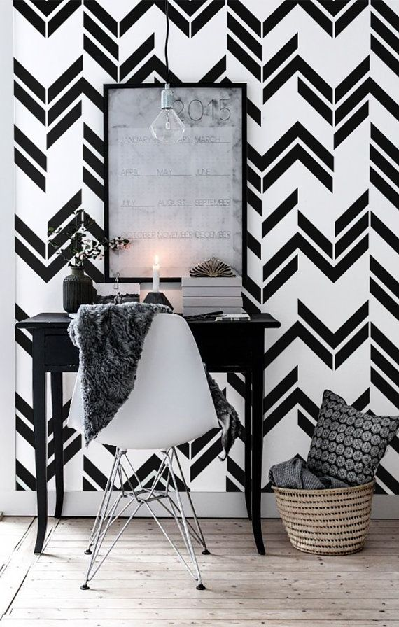 $51 CAD, Awesome and artistic vinyl material self-adhesive temporary wallpaper, easy to use! Peel it, Stick it and LOVE it! Add to your room personalised charm