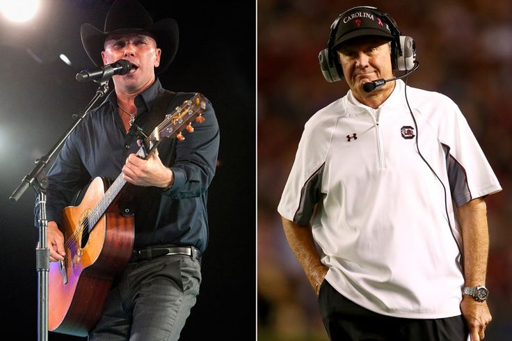 Kenny Chesney Makes a 'Believer' Out of Steve Spurrier