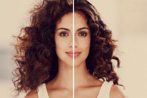 Kıvırcık saç kıvrımlarından dolayıdüz saça göredaha problemli olduğundan birçok insan için tam birçiledir.