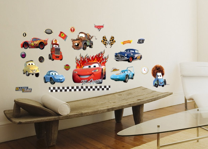29 best disney cars themed bedroom images on pinterest car bedroom car themed bedrooms and for Disney wall stickers for kids bedrooms