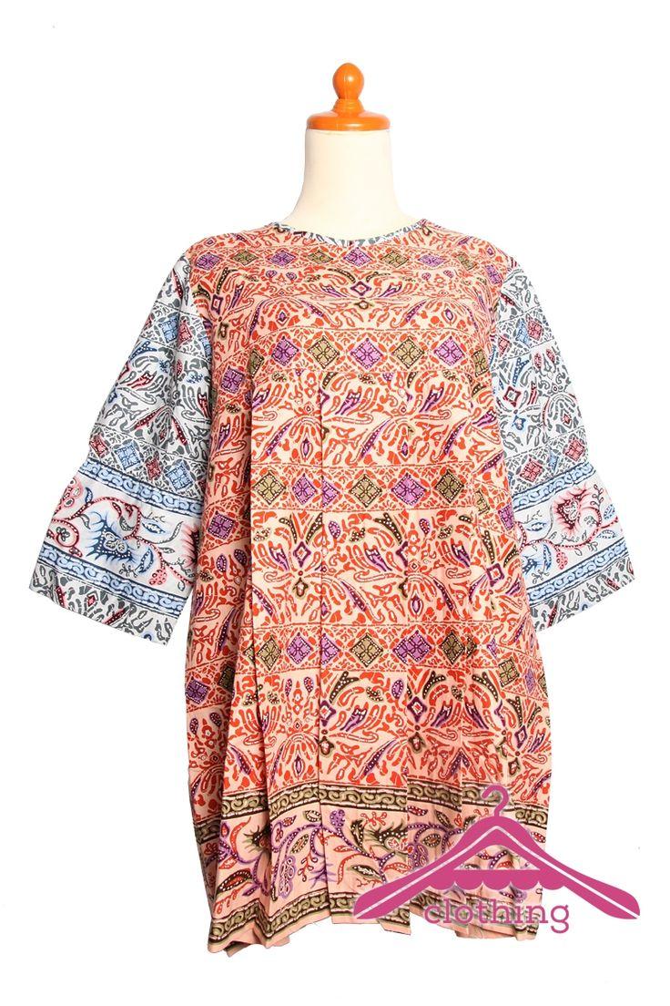 Jual Online : Baju Hamil Batik Printing Kombinasi 2 Motif 18 - A-Clothing.com