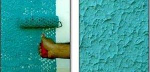 12 modelos de texturas grafiato em paredes e como aplicar