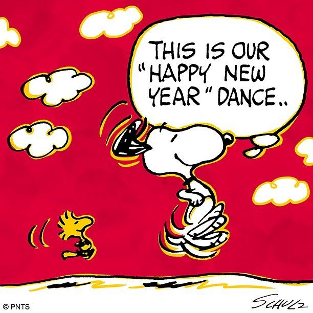 """67.5k Likes, 314 Comments - Snoopy And The Peanuts Gang (@snoopygrams) on Instagram: """"Happy New Year! 🎊🎆🎈… 