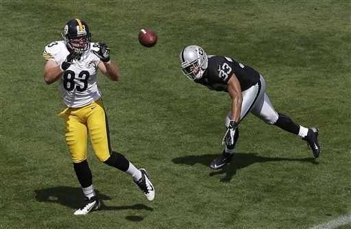 Heath Miller catches 2.  Steelers Today--A Pittsburgh Steelers blog