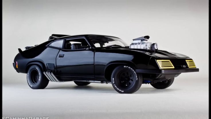 "1/18 Ford Falcon XB GT Coupe 1973 ""V8 Interceptor"" by AUTOart The V8 Interceptor, also known as a Pursuit Special, is driven by Max Rockatansky at the end of Mad Max and for the first half of Mad Max 2: The Road Warrior. It is based on a 1973 Ford Falcon XB GT coupe, which was modified to become a police interceptor by the Main Force Patrol."