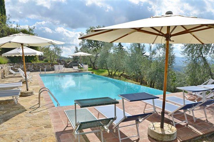 CAPANNA LEOPOLDINA 8 IN ROCCA DI CASTELLINA 8 personen gedeeld zwembad €2733