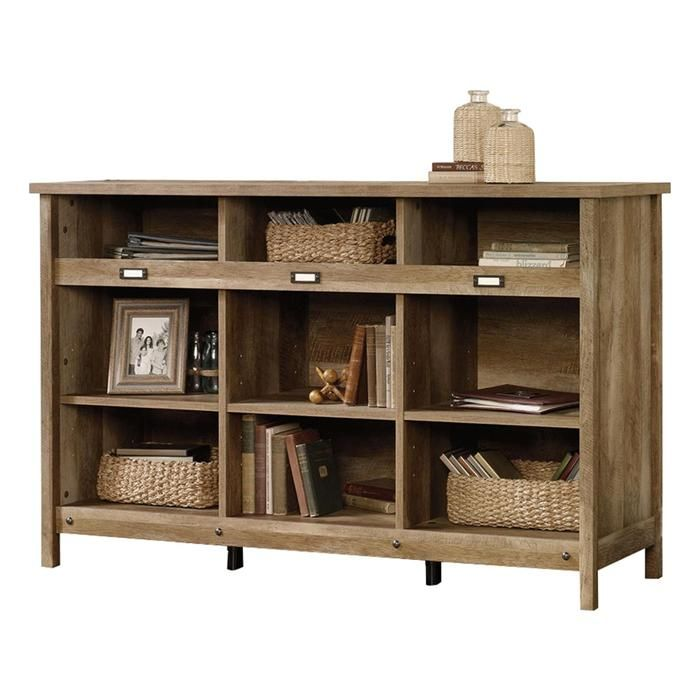 Storage Credenza in Craftsman Oak | Nebraska Furniture Mart