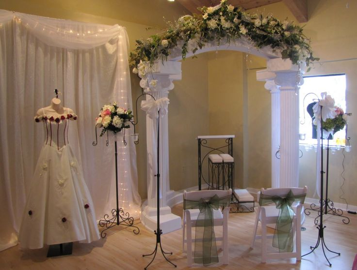 27 Best Wedding Columns And Arches Images On Pinterest  Wedding -8130
