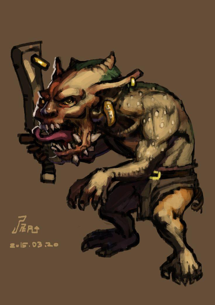 Goblin by joseph1100.deviantart.com on @DeviantArt