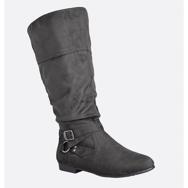 Best 25+ Grey knee high boots ideas only on Pinterest | Knee high ...