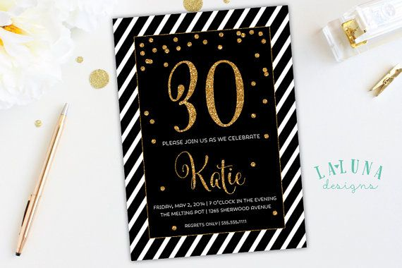 Hey, I found this really awesome Etsy listing at https://www.etsy.com/uk/listing/190905487/30th-birthday-invitation-40th-birthday