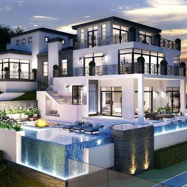 Image result for big modern houses | Dream house exterior ...