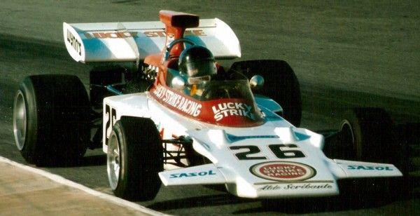 Scuderia Scribante (Lotus 72D - Ford) Dave Charlton