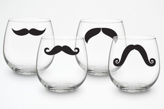 these are adorable! love mustaches!