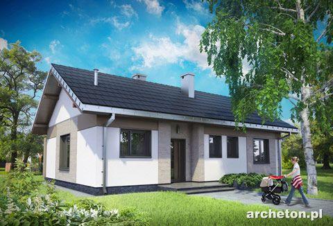Projekt domu Anita to niewielki domek parterowy, dla 4 osobowej rodziny: http://www.archeton.pl/projekt-domu-anita_1460_opisogolny