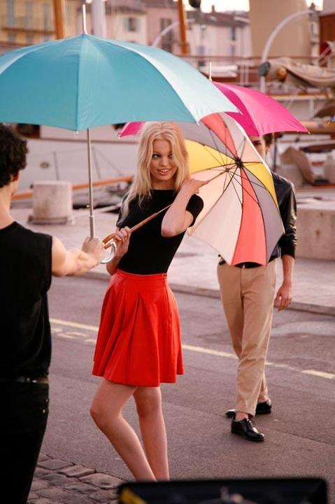 The Terrier and Lobster: Dior Addict: Daphne Groeneveld as Brigitte Bardot by Tim Walker