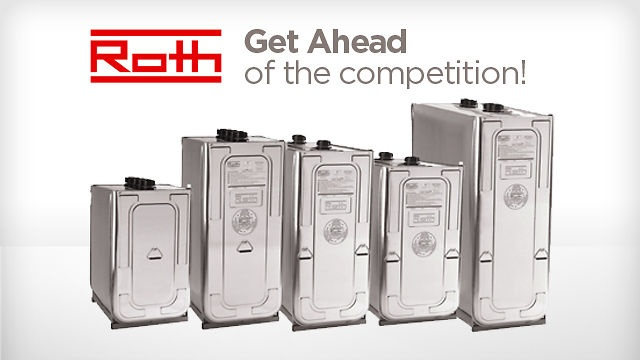 Roth Double-Wall Heating Oil Storage Tanks by Cowley Associates. Get ahead of the competition. Carry Roth double-wall heating oil storage tanks. Go to http://sellrothtanks.com to learn more about the future of heating oil storage!