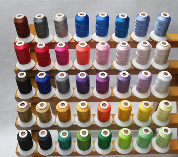 Cheap Thread, Buy Directly from China Suppliers:     40 Brother Colors Series 100% Polyester Machine Embroidery Thread Filament For Brother Janome ,500m*40