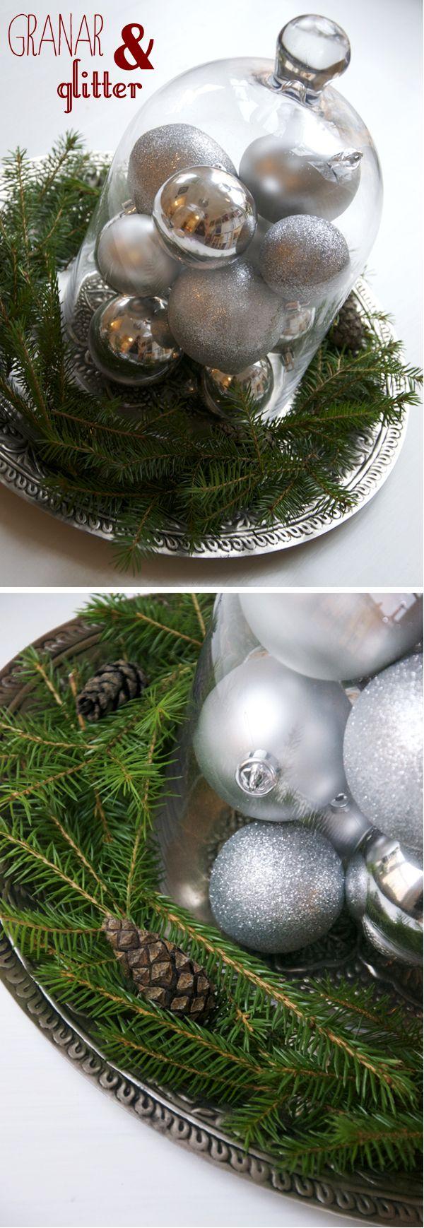 Christmas decoration/ Kreativ inredning