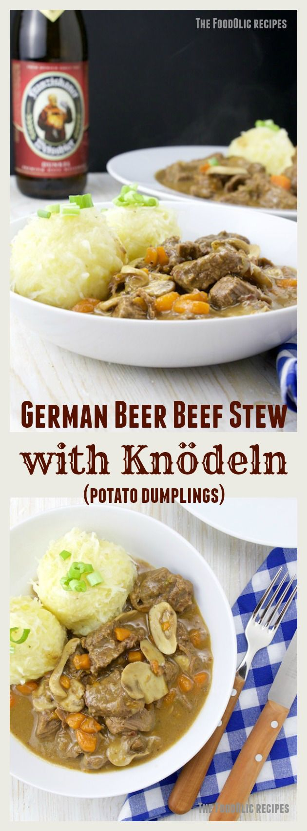Coming back from holiday in Germany and I got myself some nice cooking books, my german isn't so good yet, so it takes forever to understand a single recipe. But the one recipe I've alw…