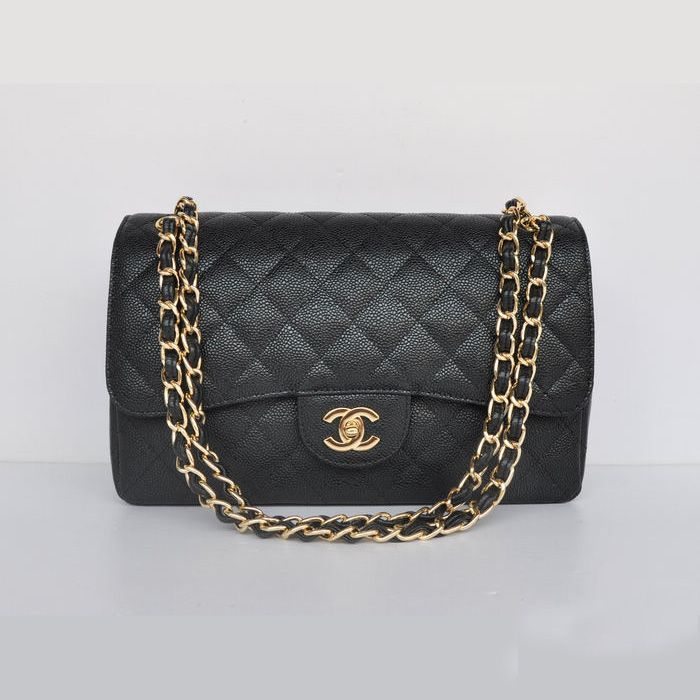 Replica Handbags - A58600 Chanel Jumbo Quilted Classic Cannage Patterns Flap Bag A5 Cheap Replicas