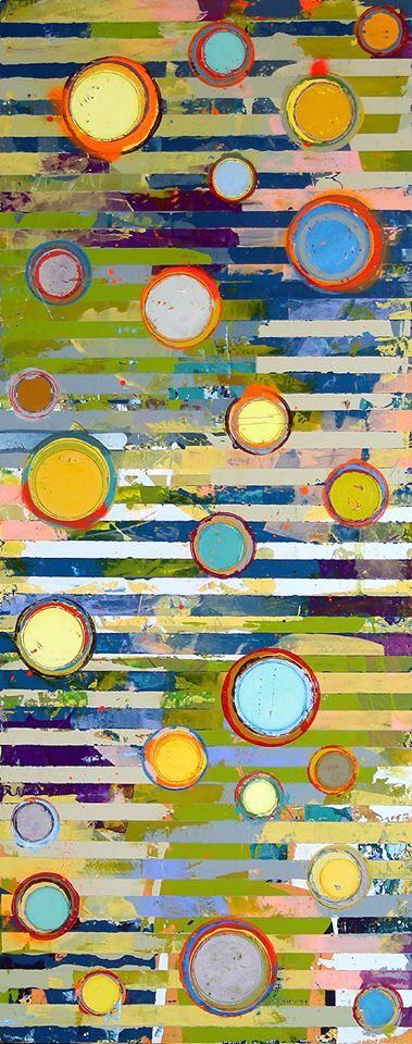 Jylian Gustlin - Contemporary Artist - Abstract Art - Fibonacci 341