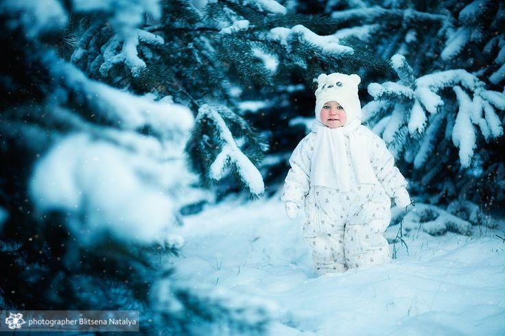 Зимняя сказка.. Автор: Наталья Блицен