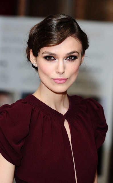 English actress, Keira Knightley. She has acted in Pirates of Caribbean film series