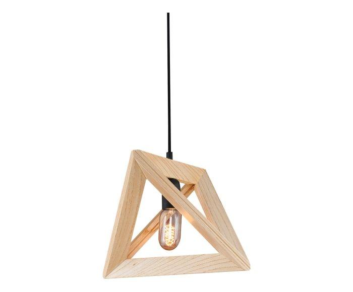 Lampada a sospensione in legno Wood