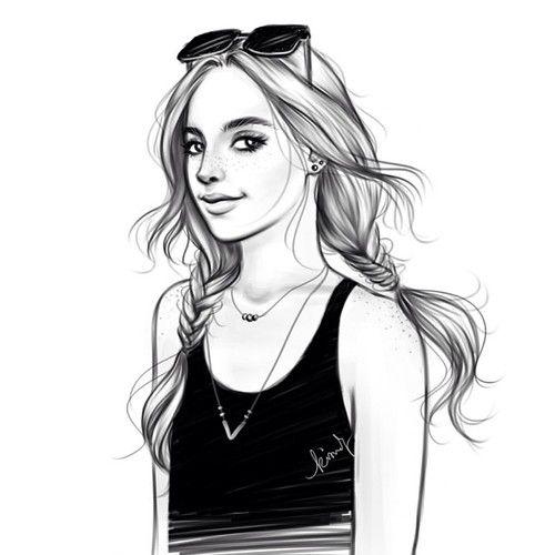 Tumblr Girl Drawing - Google Search | Tumblr | Pinterest ...