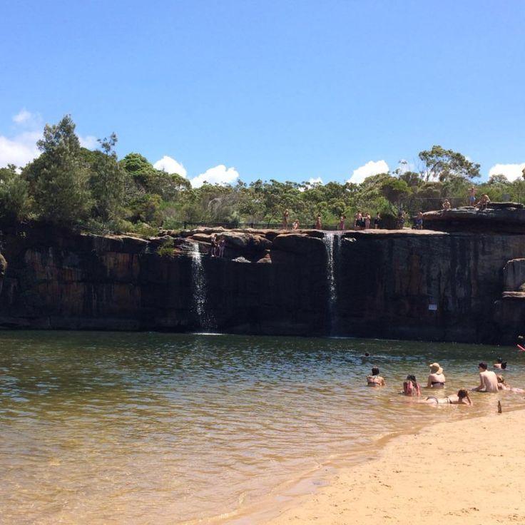 waterfall, wattamolla, royal national park, grand pacific drive, outdoor, leisure, swim, bushwalk, nature, great outdoors
