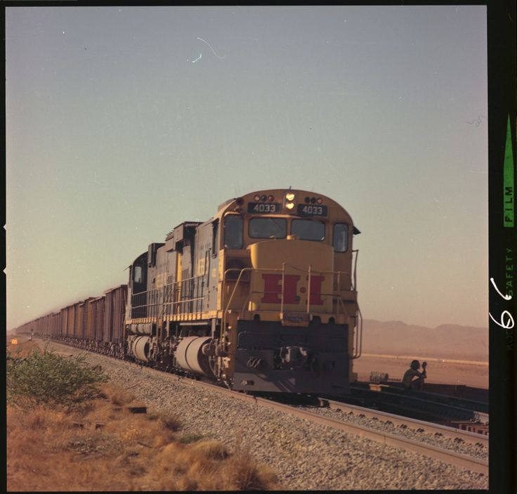 326802PD: Hamersley Iron 4033 locomotive on the Tom Price-Paraburdoo Railway, January 1972. http://encore.slwa.wa.gov.au/iii/encore/record/C__Rb3096357__SMine%20railroads%20--%20Western%20Australia%20--%20Pilbara%20--%20Photographs.__P2%2C73__Orightresult__X1?lang=eng&suite=def
