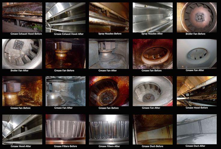 kitchen exhaust services, kitchen chimney repair and services
