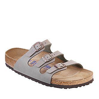 Birkenstock Florida Soft Footbed Slide Sandals :: Casual Sandals :: Shop now with FootSmart