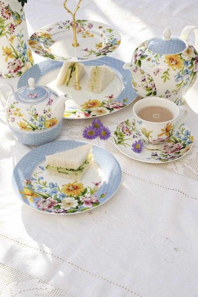 tea party time - photo #30