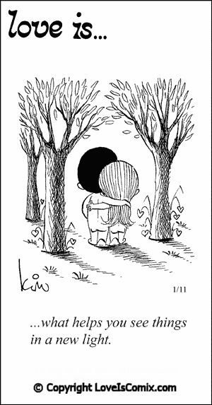 Love is... Comic Strip, Love Quotes, 2012