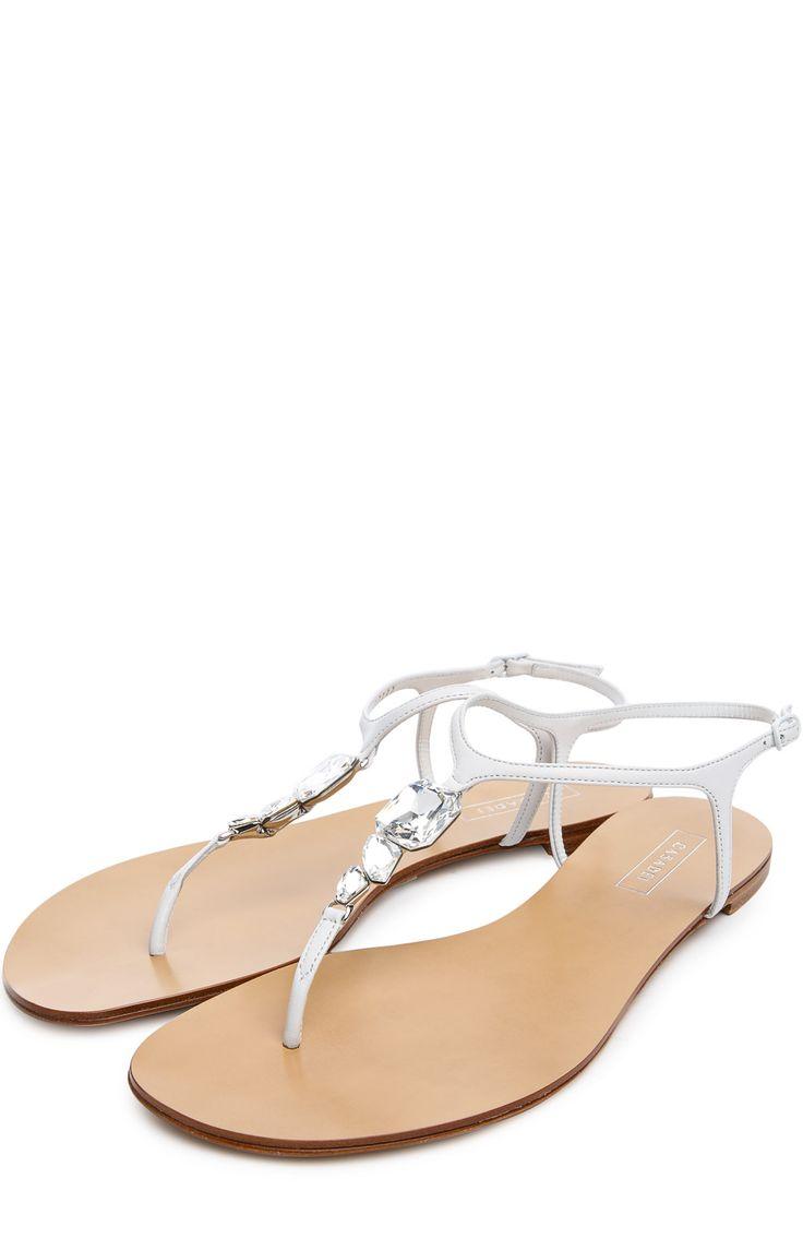 Женские белые сандалии Casadei, арт. 8871M купить в ЦУМ | Фото №2
