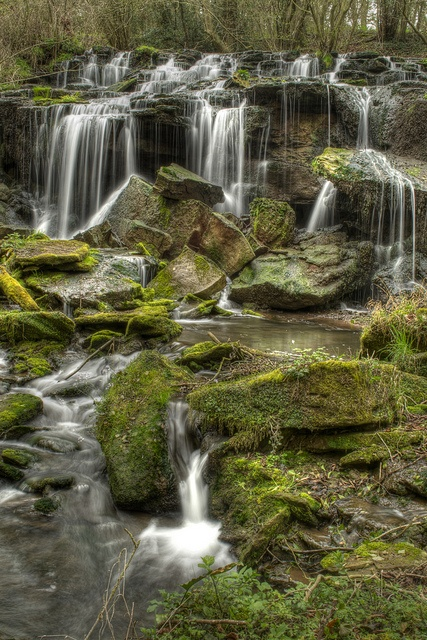 Hell Hole Dingle Falls ~ Herefordshire (f.25 @ 1sec)