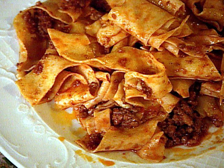 Pappardelle al Cinghiale Recipe : Food Network