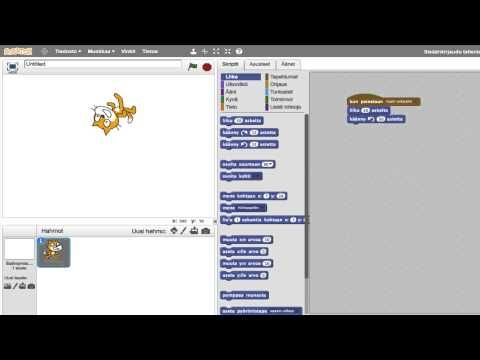 OHJELMOINTI: Scratch - Kuinka se oikein toimii - YouTube