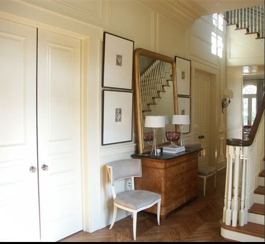 Transitional Foyer Hallway: 287 Best Images About Foyers, Hallways And Staircases On
