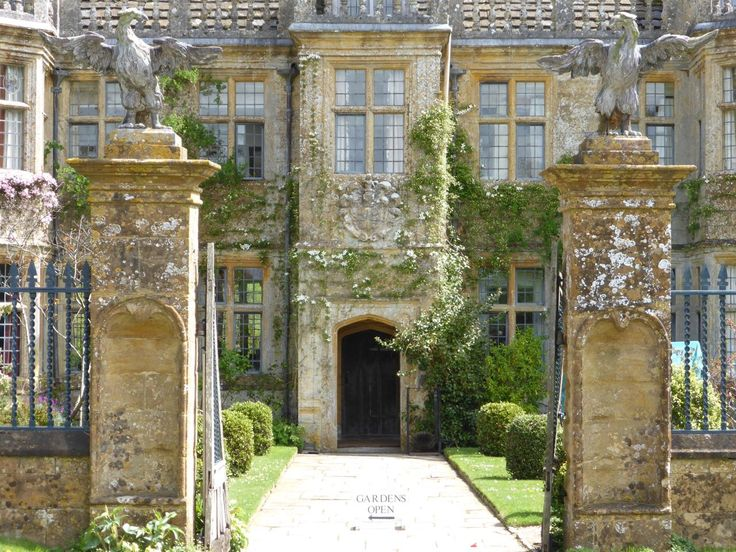 Entrance to Mapperton House - perhaps the dreamiest house in Dorset. HHA Friends visit free: www.hha.org.uk