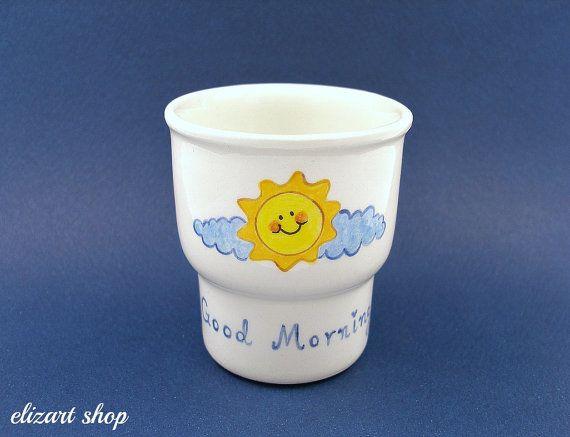 Egg holder egg cup ceramic egg cup pottery egg cup by elizartshop