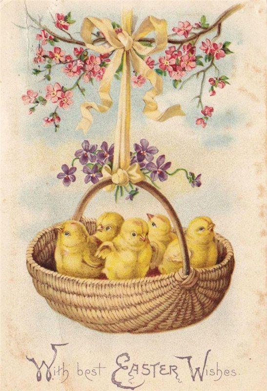 Пасхальные винтажные открытки -2. Обсуждение на LiveInternet - Российский Сервис Онлайн-Дневников