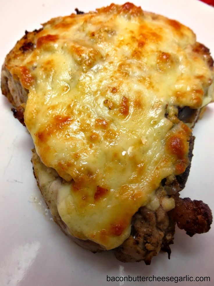 Bacon, Butter, Cheese & Garlic: Nothing Beats a Pork Chop!